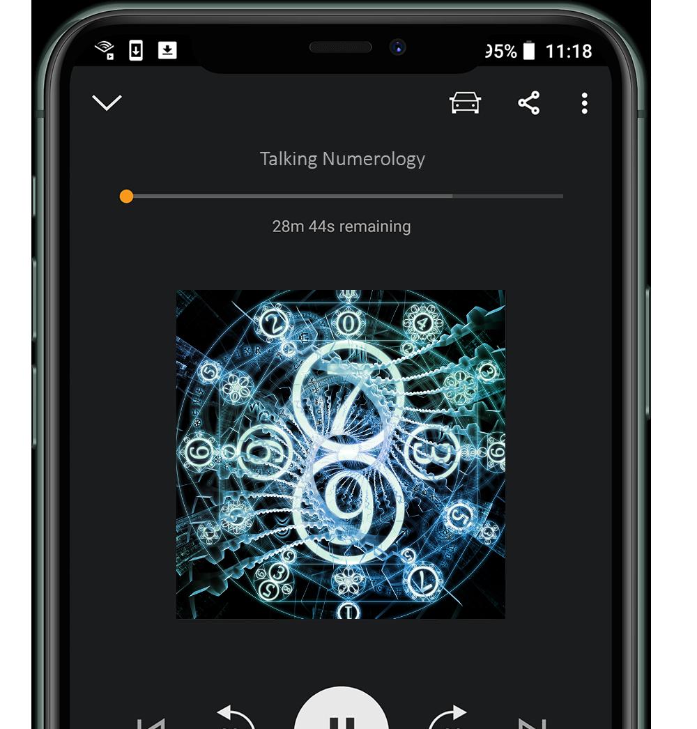 talking numerology podcast